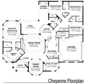Single Family House Plans Floor Plan Samples Kemp Design Services