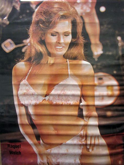 raquel welch famous poster pro arts postermania classic personality posters