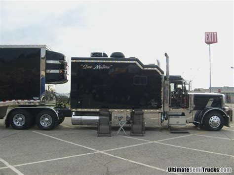 Big Rig Sleepers by Peterbilt With Custom Sleeper From The 2008 Mid America