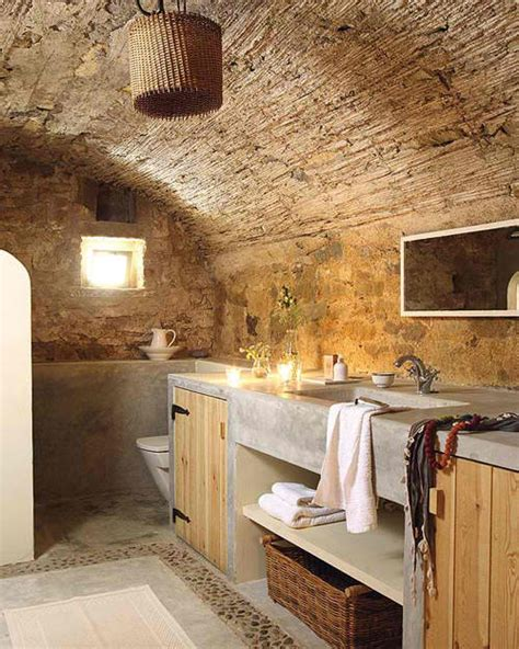 stone earth bathrooms 20 awesome concrete bathroom designs decoholic