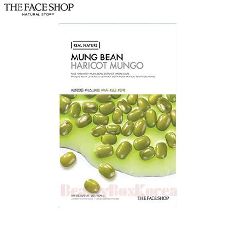 The Shop Real Nature Mask Sheet New box korea the shop real nature mask sheet