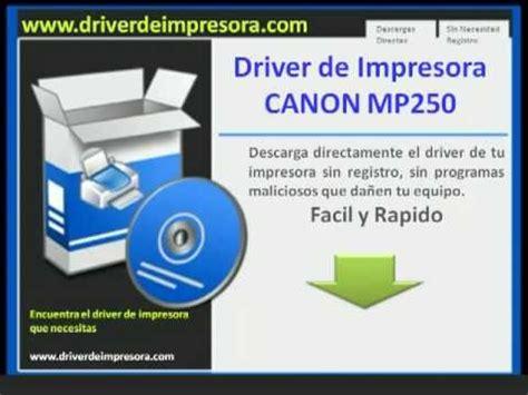 reset canon mp250 descargar descargar driver de impresora canon mp250 youtube