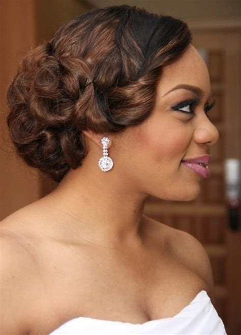 Wedding Hairstyles For Over 50 50 Best Wedding Hairstyles For Black 2018 Cruckers