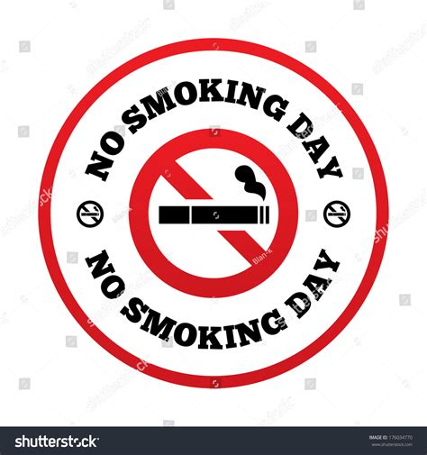 day no no day sign quit stock vector 176034770