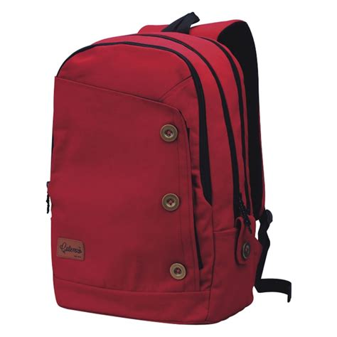 Tote Kuliah Messenger Shopping Selempang Notebook Multifungsi tas ransel laptop merah cover original catenzo st 033 elevenia