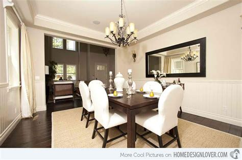 Brown And White Dining Room by 15 Ideas For Beige Dining Rooms House Decorators Collection