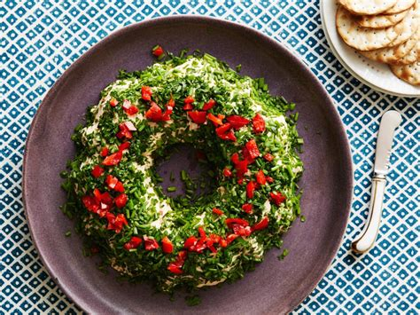 christmas wreath appetizers easy and appetizer recipes food network recipes menus desserts