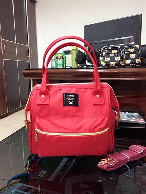 Tas Handbag Anello Big Go Motif 5 jual tas wanita anello 2way tote besar jepang sandang