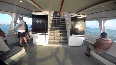 glass bottom boat tours in destin florida destin glass bottom boat tour youtube