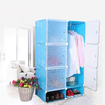 simple portable plastic armoires and wardrobes for