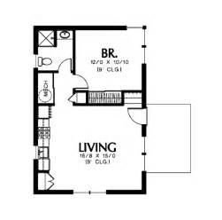 modern style house plan 1 beds 1 baths 600 sq ft plan