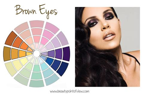 colors that bring out brown how to make your eye color stand out