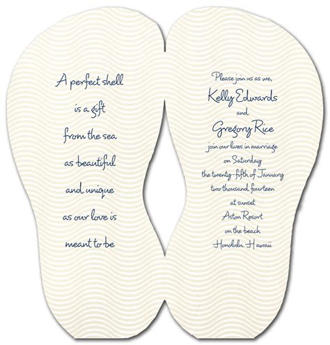 Flip Flop Shaped Card Template by Flip Flop Shaped Invitation Template Invitations Ideas