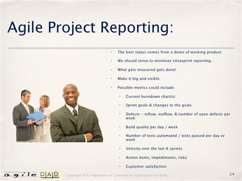 agile status report template status report templates for agile projects images