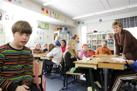 classroom layout in finland finland aurora school children with disabilities study