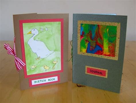 How To Make A Handmade Book - things to make and do handmade books