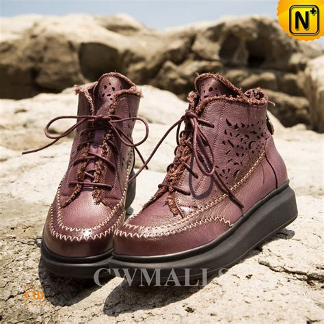 Handmade Ankle Boots - handmade womens lace up ankle boots cw305567