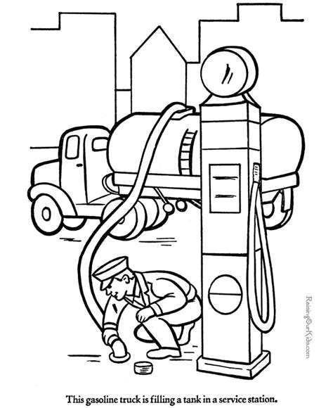 big rig coloring pages az coloring pages