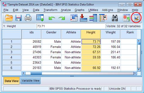 spss tutorial how to enter data data creation in spss spss tutorials libguides at kent