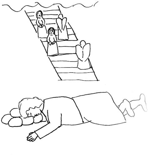 free bible coloring pages jacob s ladder free coloring pages of jacob s