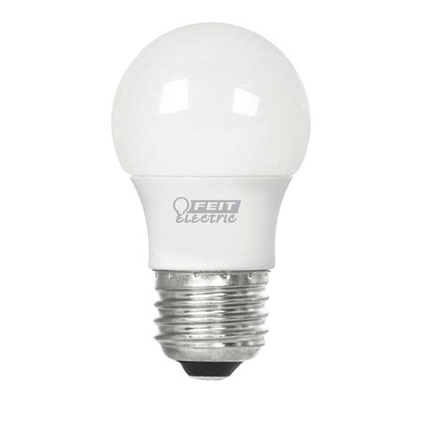feit electric led light bulbs feit electric 25w equivalent soft white 3000k a15 frost