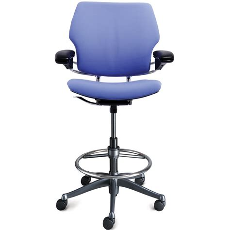 High Stool Chair With Wheels