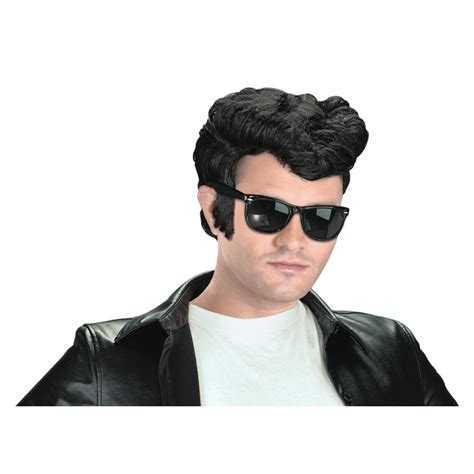 greaser hairstyle product greaser wig 1950 s rockabilly pompadour fonz costume accessory
