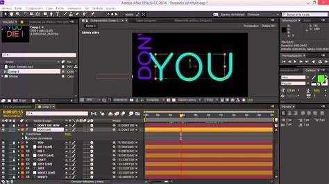 tutorial after effects kinetic typography tutorial after effects kinetic typography facil youtube