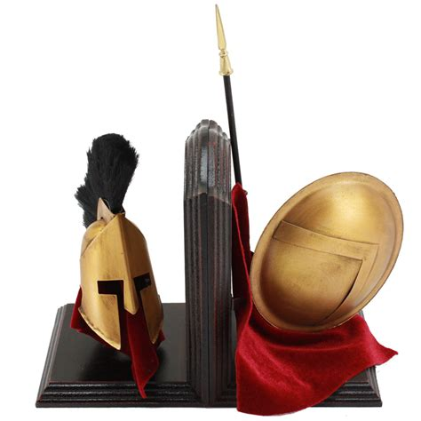 spartan home decor spartan gear of war bookshelf decoration set