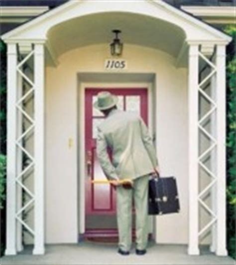 how to prevent solicitors from ringing your door bell