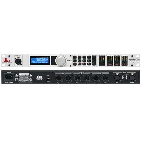 Drive Rack Pa by Dbx Driverack Pa Complete Loudspeaker Management System