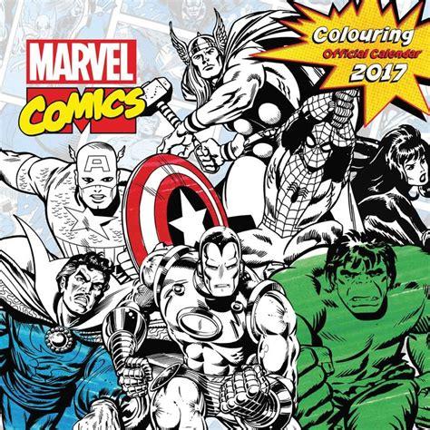 Calendar 2018 Comics Marvel Comics Calendars 2018 On Abposters