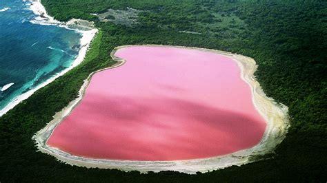 pink lake pink lake retba senegal