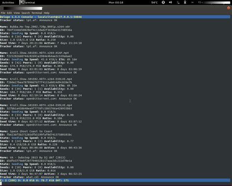 deluge android how to using ssh with deluge to add torrents on ubuntu desktop server remotely incl from