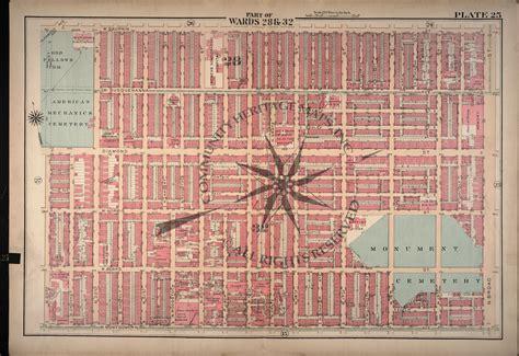 antique map of philadelphia original 22x32 175 00