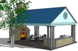 Kitchen Roof Design Outdoor Kitchen Designs With Pergola Shade Structures