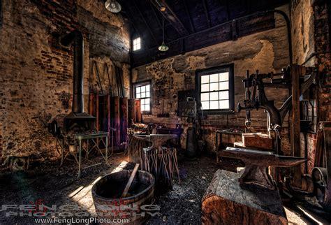 blacksmiths workshop  biltmore estate hdr zachary