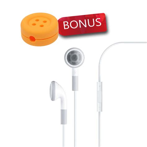 Apple Earphones With Remote And Mic For Iphone 4s Heandset Hp apple earphones with remote and mic for iphone 4s