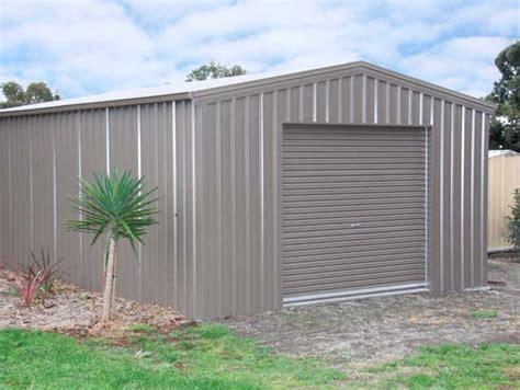 eureka garages and sheds gable roof garage 10