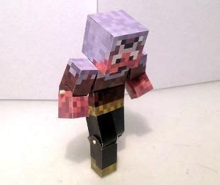 Papercraft Generator - minecraft character bendable papercraft generator