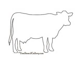 cow template cow silhouette stencil future home a cow