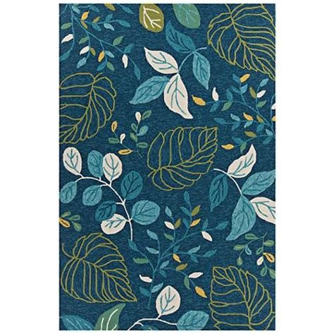 Blue And Green Outdoor Rug Chandra Terra Blue And Green Outdoor Area Rug 9m662 Ls Plus