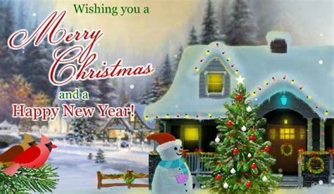 Christmas Wishes Across The Miles. Free Merry Christmas