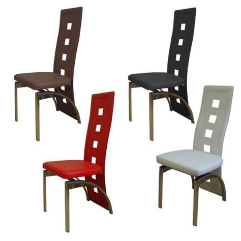 2x designer dining chairs homehighlight co uk