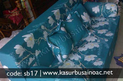 Sofa Bed Lipat 1 Pcs Bantal sofa bed motif bunga biru muda jual kasur busa inoac