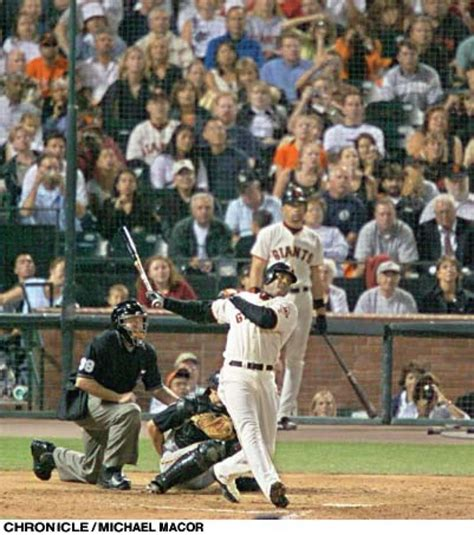 barry bonds 600th home run sfgate