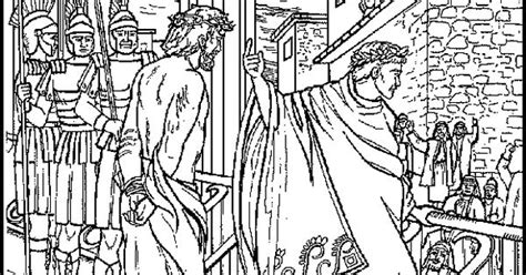 coloring pages jesus before pilate b398284abf0c802efa6041485481209f jpg