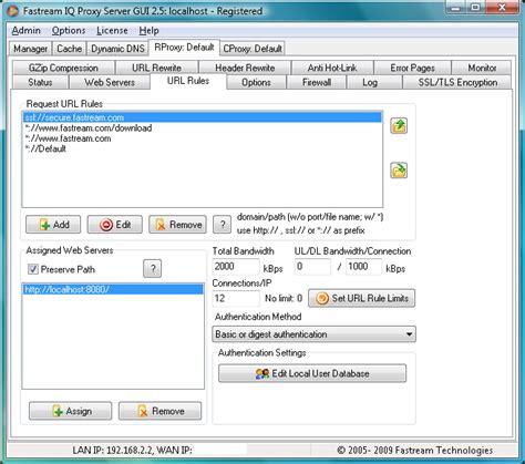 configure xp reverse proxy free download iq proxy network tools software