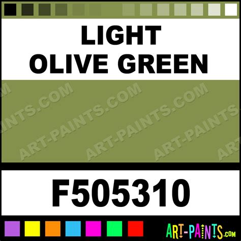 light olive green model airbrush spray paints f505310 light olive green paint