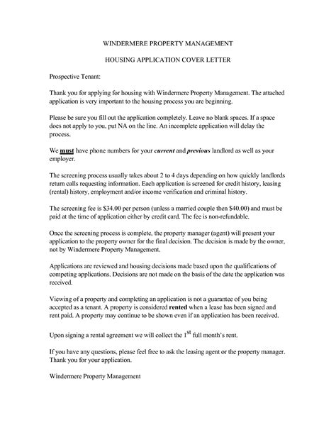property manager cover letter ideal vistalist co